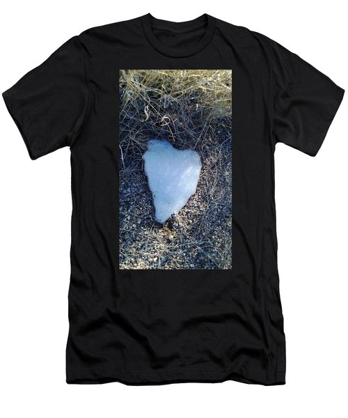 Snow Heart Men's T-Shirt (Athletic Fit)