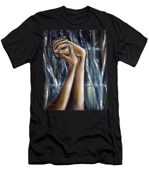 Snow Light Men's T-Shirt (Athletic Fit)