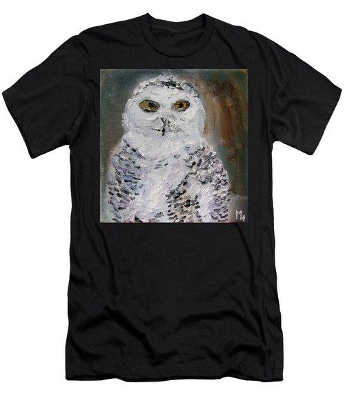 Snow Owl Men's T-Shirt (Athletic Fit)