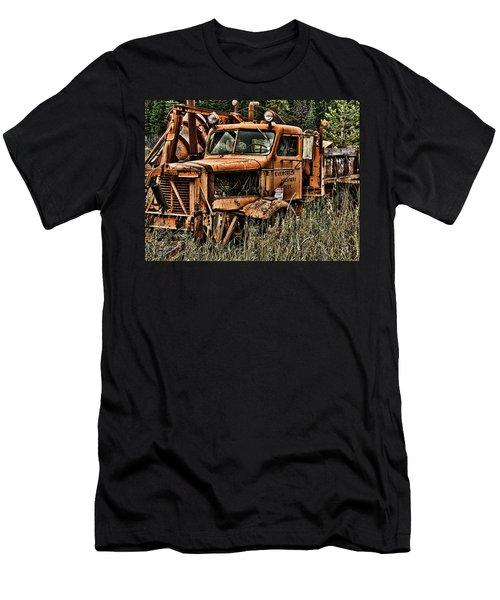 Snow Plow Men's T-Shirt (Athletic Fit)