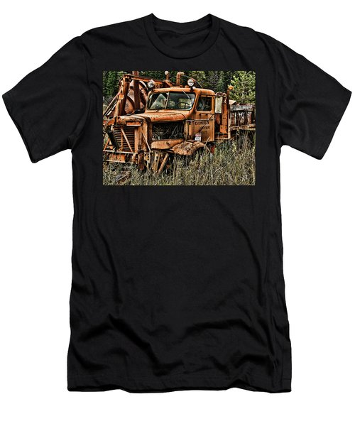Snow Plow Men's T-Shirt (Athletic Fit)