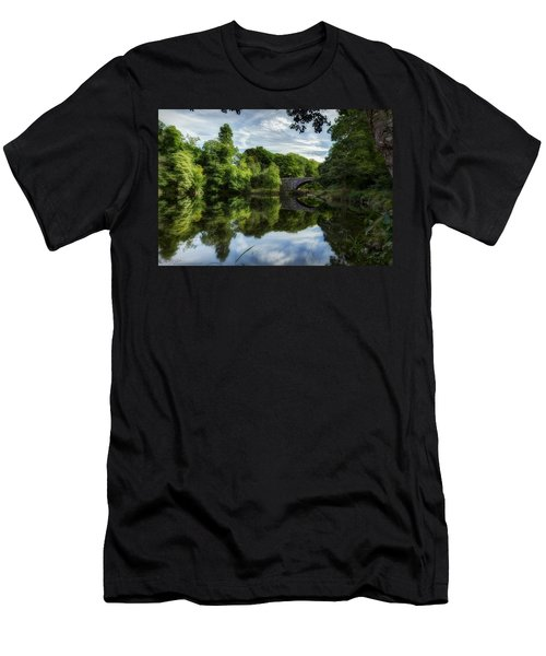 Snowdonia Summer On The River Men's T-Shirt (Athletic Fit)