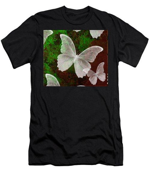 Snowflies Men's T-Shirt (Athletic Fit)