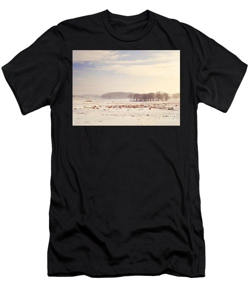 Snowy Valley Men's T-Shirt (Athletic Fit)