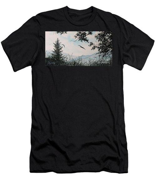 Soaring High Sold Men's T-Shirt (Athletic Fit)