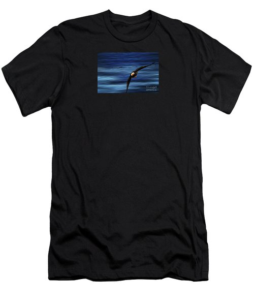 Soaring Over Water Men's T-Shirt (Athletic Fit)
