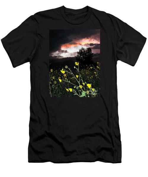 Socorro Sunset Men's T-Shirt (Athletic Fit)
