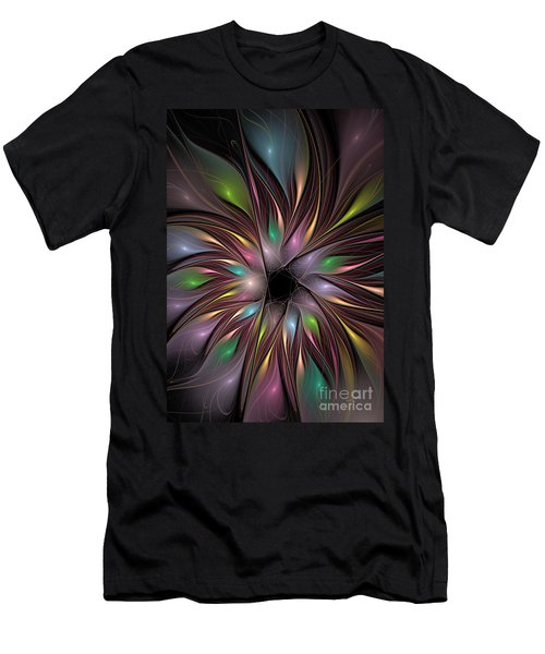 Soft Colors Of The Rainbow Men's T-Shirt (Athletic Fit)
