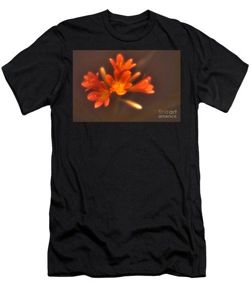 Soft Focus Kaffir Lily Men's T-Shirt (Athletic Fit)
