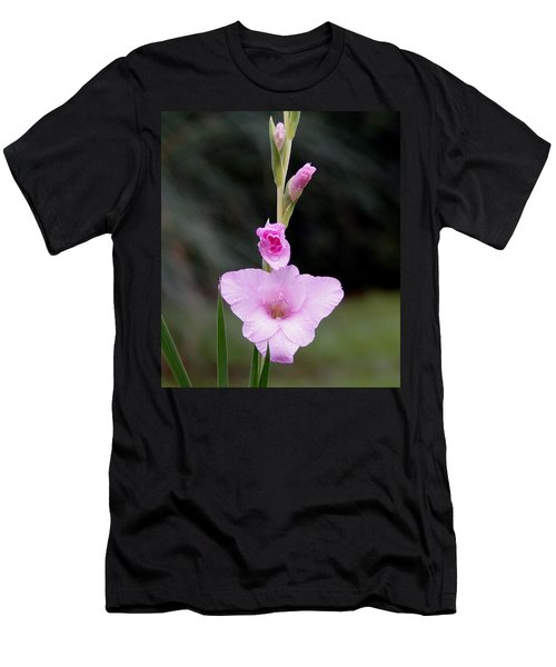 Soft Pink Glad Men's T-Shirt (Athletic Fit)