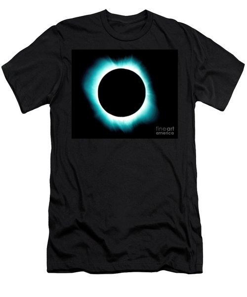 Solar Corona Men's T-Shirt (Athletic Fit)