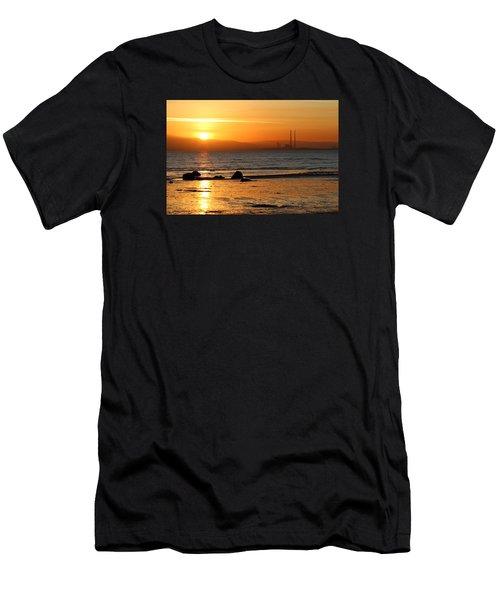 Solar Gold Men's T-Shirt (Athletic Fit)