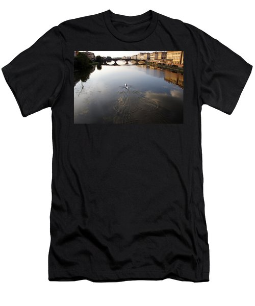 Solitary Sculler Men's T-Shirt (Athletic Fit)