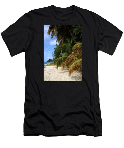 Men's T-Shirt (Slim Fit) featuring the photograph Nude Beach by The Art of Alice Terrill