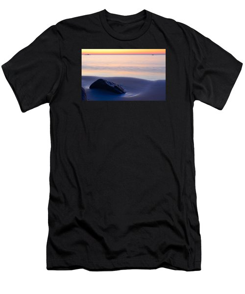 Solitude Singing Beach Men's T-Shirt (Athletic Fit)