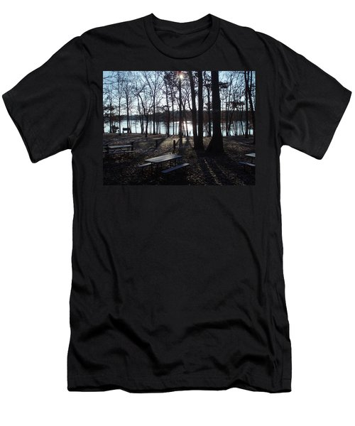 Men's T-Shirt (Slim Fit) featuring the photograph Solitude by Fortunate Findings Shirley Dickerson