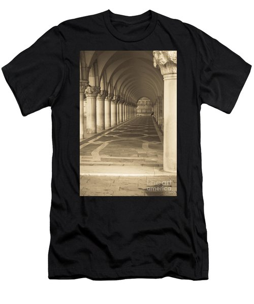 Solitude Under Palace Arches Men's T-Shirt (Athletic Fit)