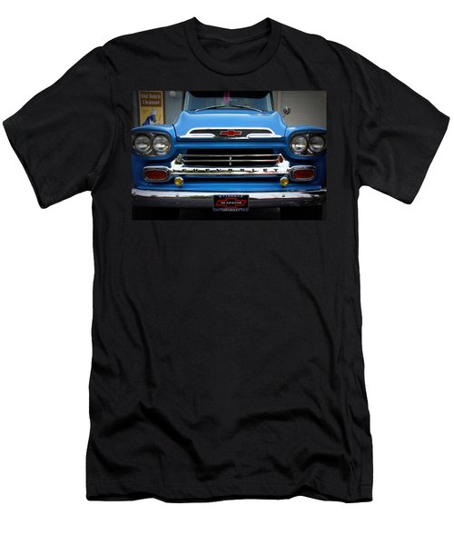 Something Bout A Truck Men's T-Shirt (Slim Fit) by Laurie Perry