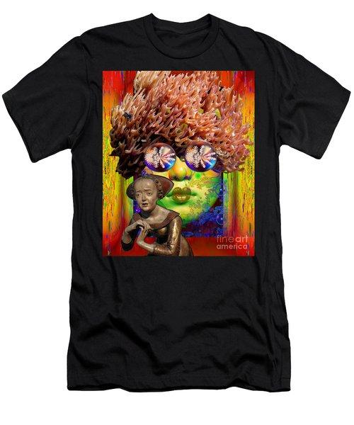 Solar  Awakening Men's T-Shirt (Slim Fit) by Joseph Mosley