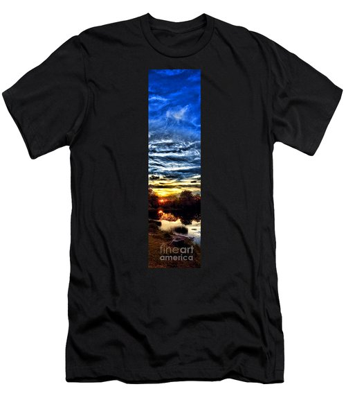 Somewhere On Earth Men's T-Shirt (Athletic Fit)