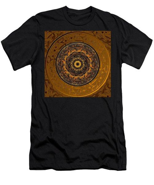 Song Of Heaven Mandala Men's T-Shirt (Slim Fit) by Michele Avanti