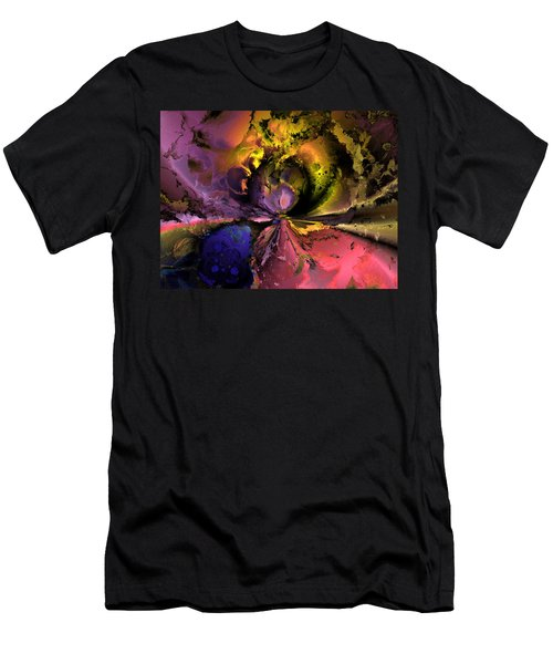 Song Of The Cosmos Men's T-Shirt (Slim Fit) by Claude McCoy