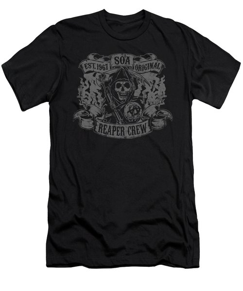 Sons Of Anarchy - Original Reaper Crew Men's T-Shirt (Athletic Fit)