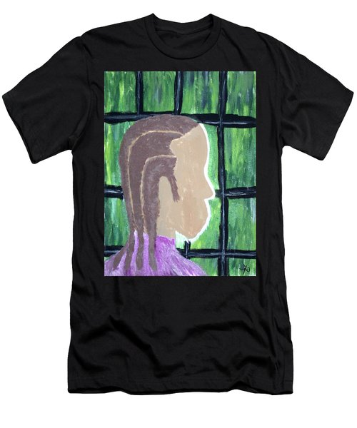 Abstract Man Art Painting  Men's T-Shirt (Athletic Fit)