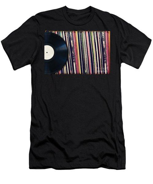 Sound Of Vinyl Men's T-Shirt (Athletic Fit)