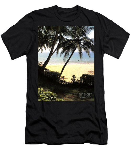 South Beach - Miami Men's T-Shirt (Athletic Fit)