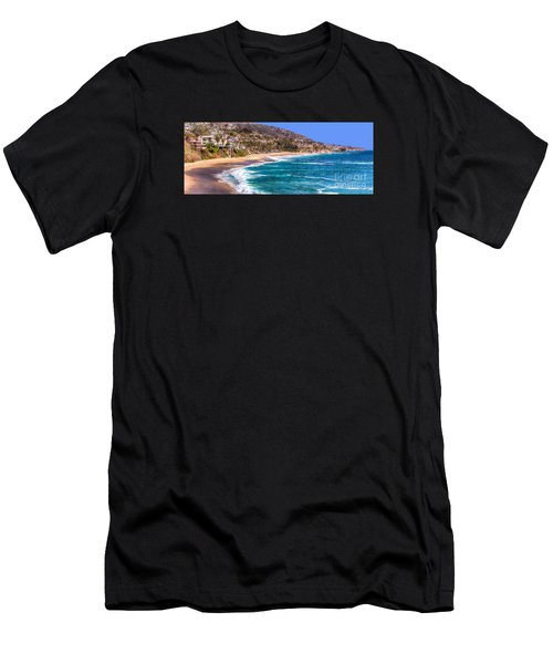 South Laguna Beach Coast Men's T-Shirt (Athletic Fit)