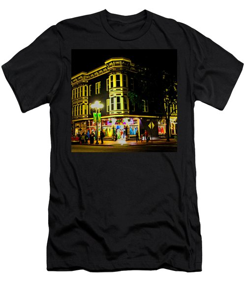 Southern California Streets At Sunset Men's T-Shirt (Athletic Fit)