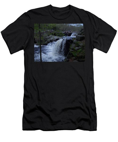 Southford Falls Men's T-Shirt (Slim Fit) by Catherine Gagne