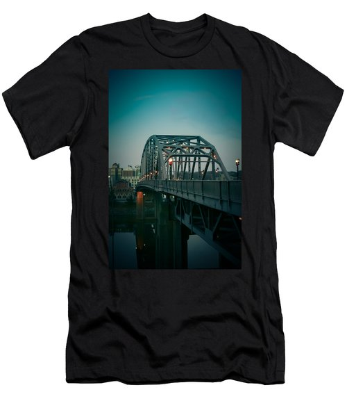 Southside Bridge  Men's T-Shirt (Athletic Fit)