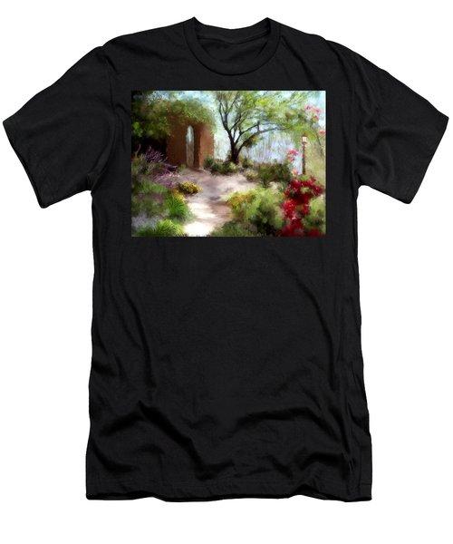 The Meditative Garden Men's T-Shirt (Athletic Fit)