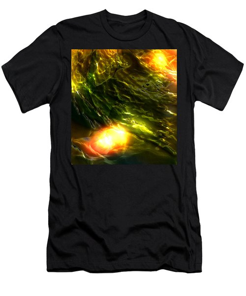 Space Fall Men's T-Shirt (Athletic Fit)