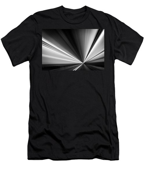 Men's T-Shirt (Slim Fit) featuring the photograph Space-time Continuum by Mihai Andritoiu