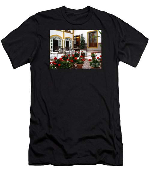 Men's T-Shirt (Slim Fit) featuring the photograph Spain by Haleh Mahbod