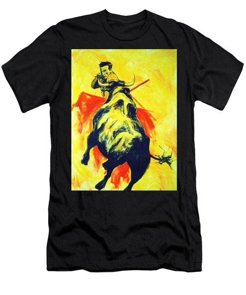 Spanish Bullfight Men's T-Shirt (Athletic Fit)