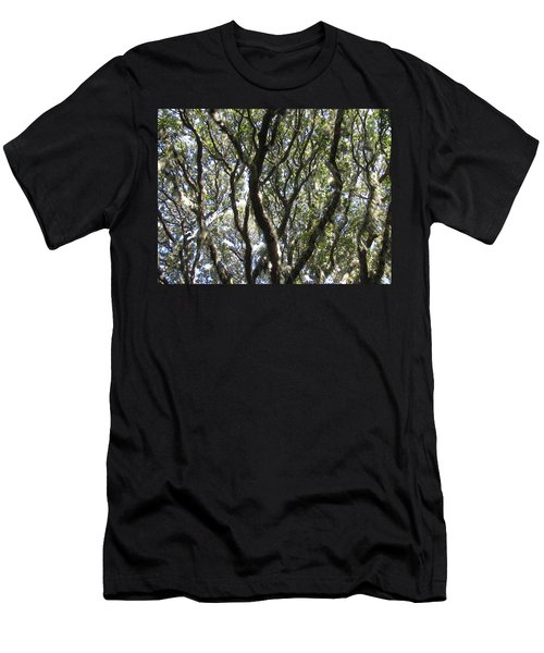 Spanish Moss Oak Men's T-Shirt (Athletic Fit)