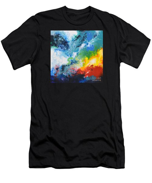 Spark Of Life Canvas Two Men's T-Shirt (Athletic Fit)