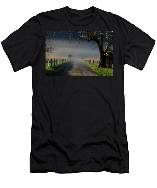 Sparks Lane Sunrise II Men's T-Shirt (Athletic Fit)