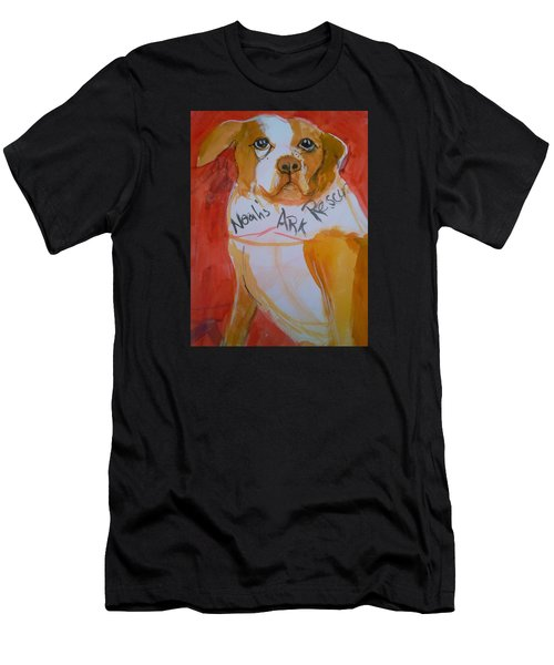 Spencer The Pit Bull Men's T-Shirt (Athletic Fit)
