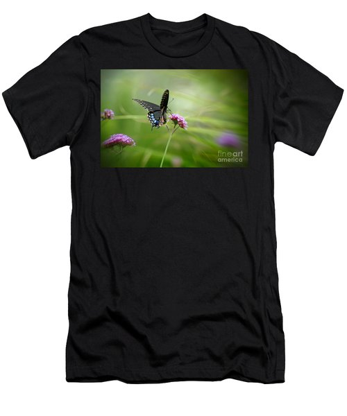 Spicebush Swallowtail Butterfly Men's T-Shirt (Athletic Fit)