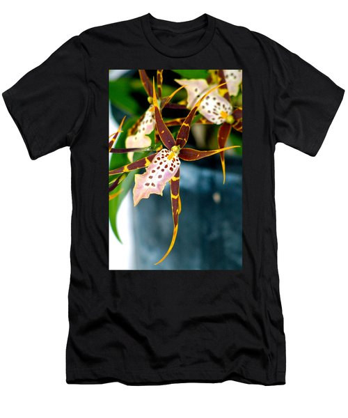 Spider Orchid Men's T-Shirt (Athletic Fit)