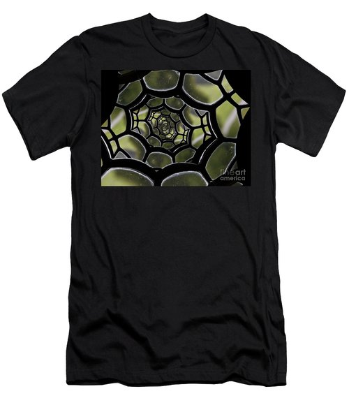 Men's T-Shirt (Slim Fit) featuring the photograph Spider's Web. by Clare Bambers