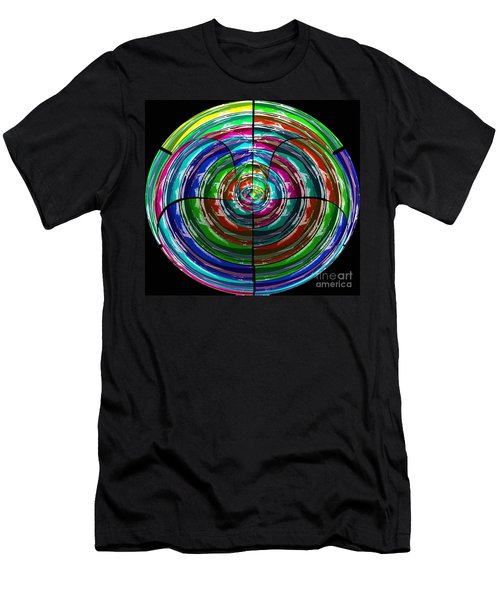 Spinning Top Men's T-Shirt (Athletic Fit)