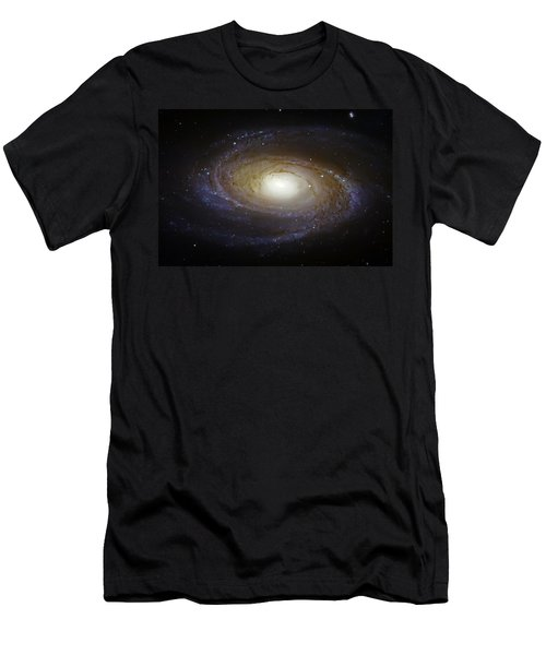 Spiral Galaxy M81 Men's T-Shirt (Athletic Fit)