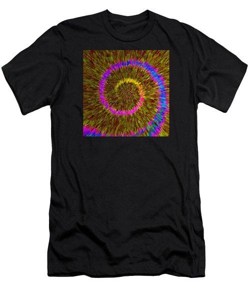 Spiral Rainbow IIi C2014 Men's T-Shirt (Athletic Fit)