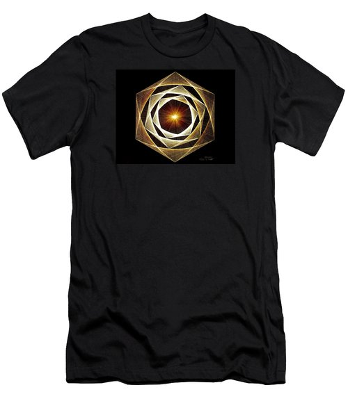 Spiral Scalar Men's T-Shirt (Slim Fit) by Jason Padgett